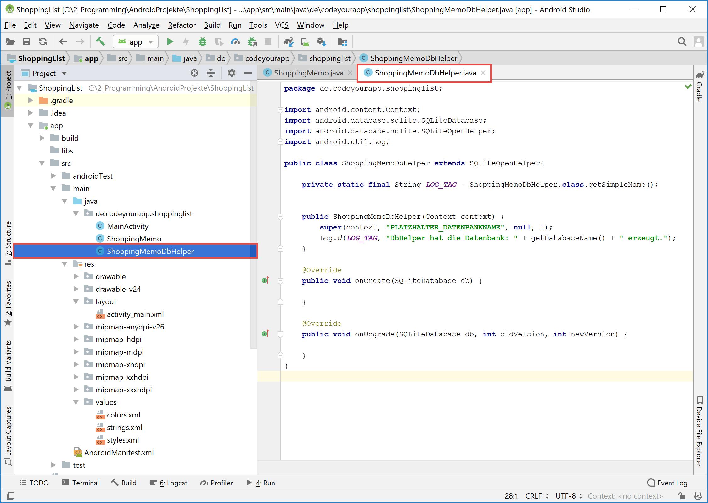 android_sqlite_dbhelper_class_code
