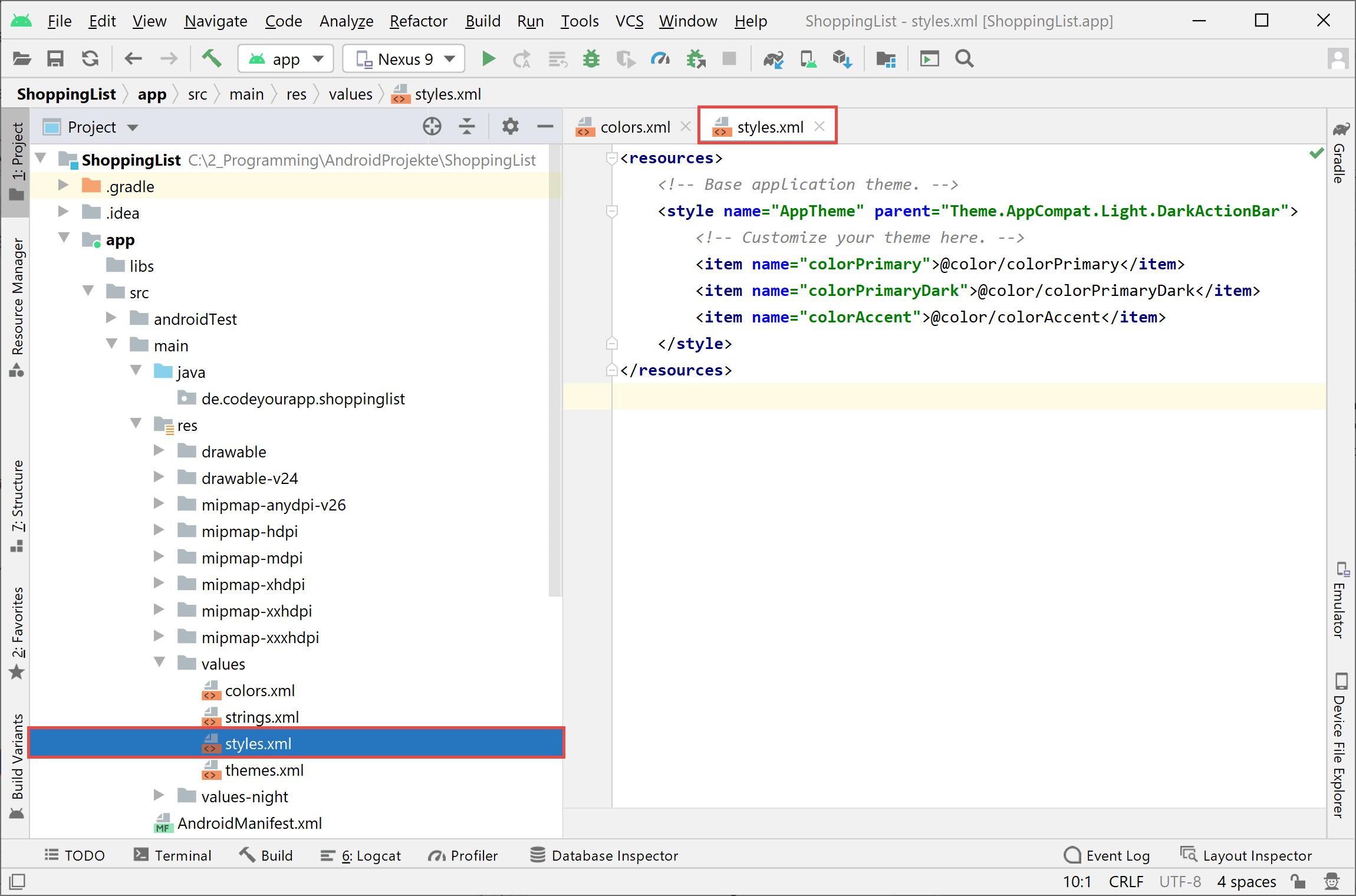 sqlite_styles_code_a